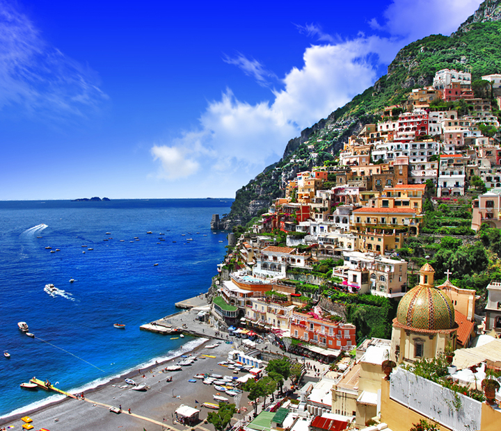 Beautiful Positano. Amalfi coast