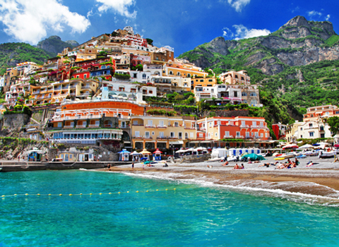 Colors of sunny Italy