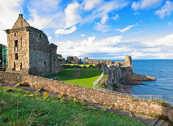 Ruins of St Andrews Castle, Spain